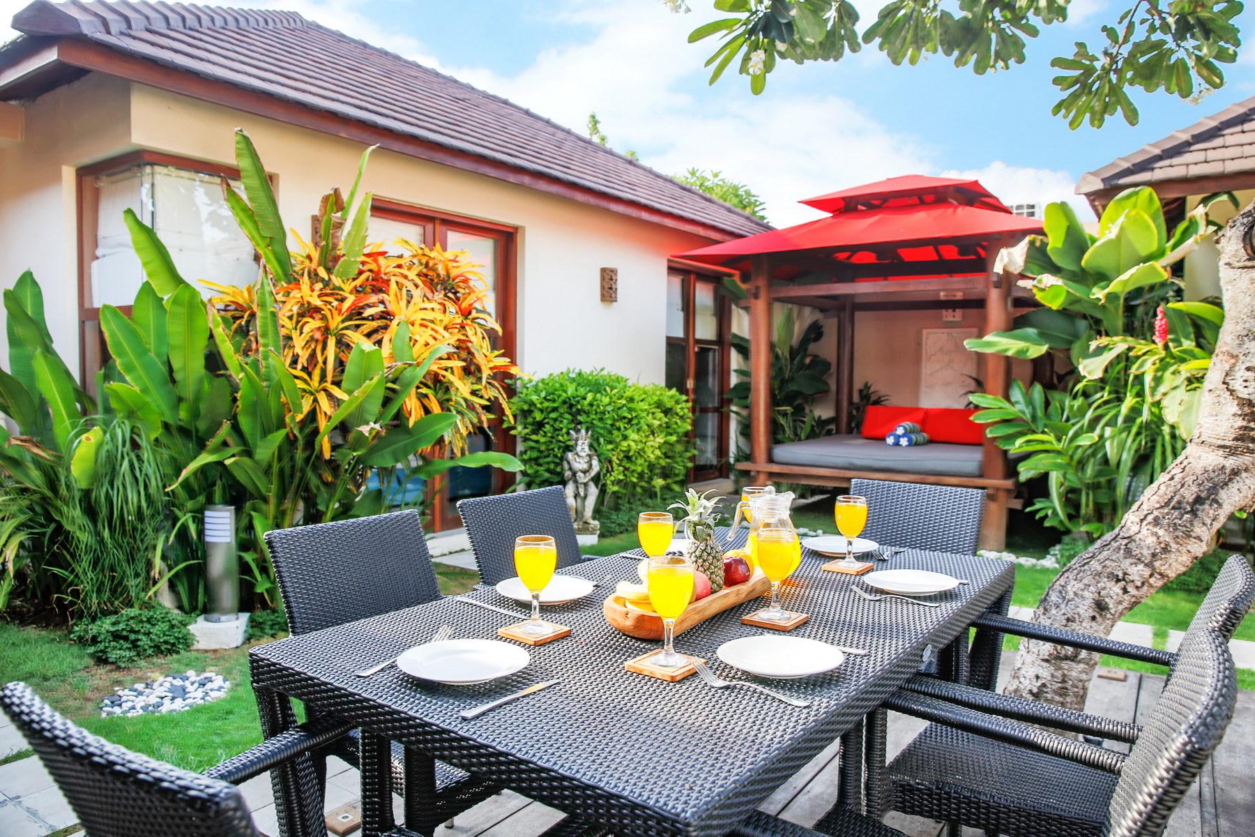 Bedroom Private Pool Villas Bali Legian